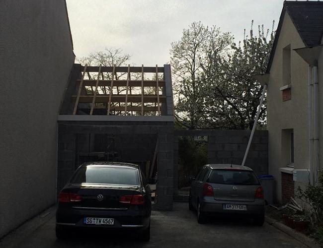 Création ouverture garage